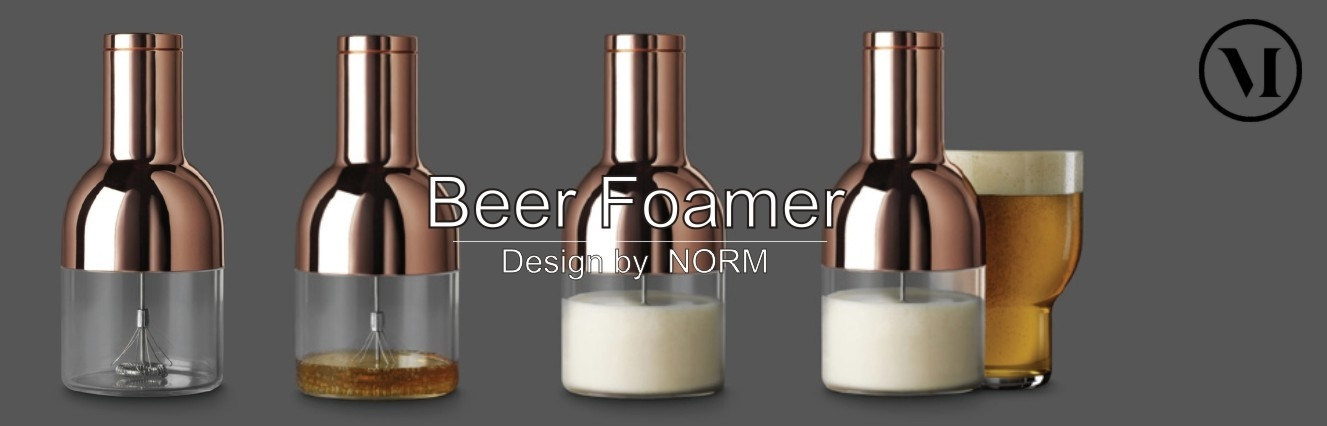 Beer foamer by MENU