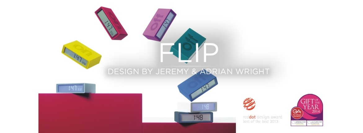FLIP clock by LEXON
